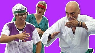 فوزي موزي وتوتي – درس الكاراتيه – Karate Lesson