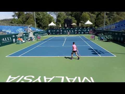 Jaiwariah Noordin vs Teresa Martincova Highlights | WTA Malaysian Open 2017
