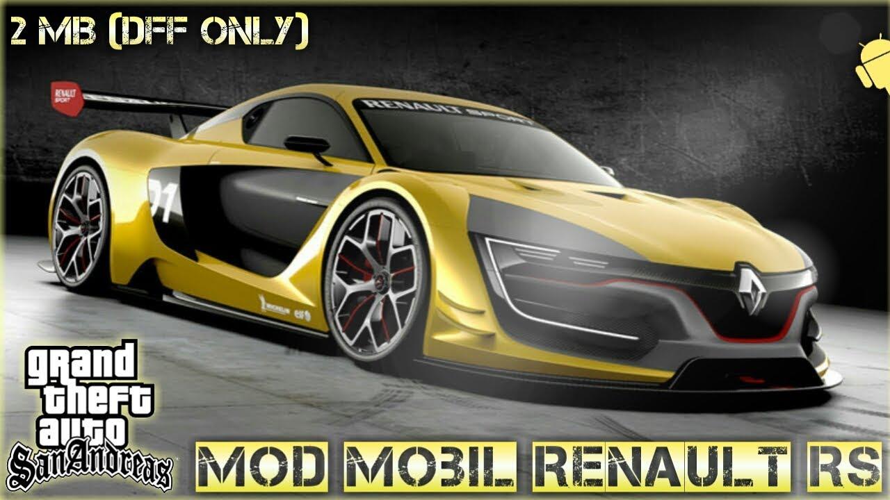 Mod Mobil Renault Rs Gta Sa Android Mod Mobil Keren Gta Sa Android Mod Gta Sa Android Youtube