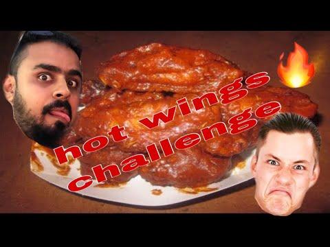 HOT WINGS CHALLENGE ..| CHUCHI Vs MAC