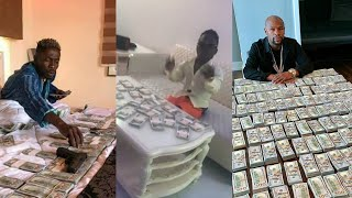 SHATTA BANDLE BATTLES SHATTA WALE AND MAYWEATHER ON MONEY COUNT