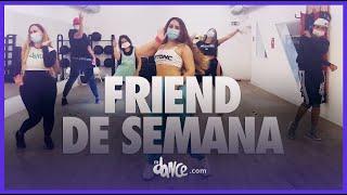 Friend de Semana - Danna Paola, Luísa Sonza, Aitana   FitDance (Coreografia)   Dance Video