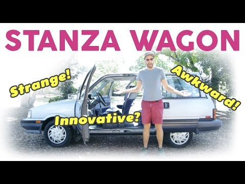 Фото к видео: 1986 Nissan Stanza Wagon — Forgotten Innovation