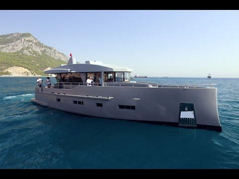 Bering 70  - Steel Luxury Coastal Cruiser Yacht - Preliminary sea trials