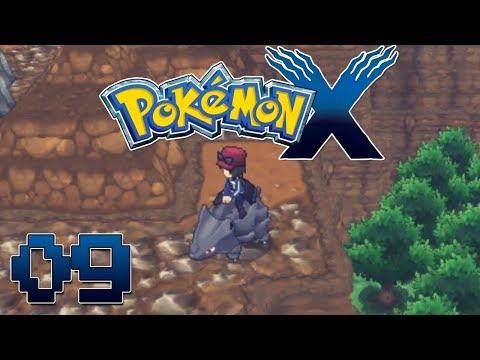 Let's Play Pokemon X Part 9  Fossil Pokemon & Glittering Cave - Gameplay Walkthrough