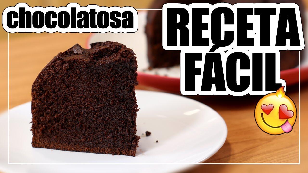 🍫BIZCOCHO de CHOCOLATE SÚPER ESPONJOSO y HUMEDO | Receta fácil