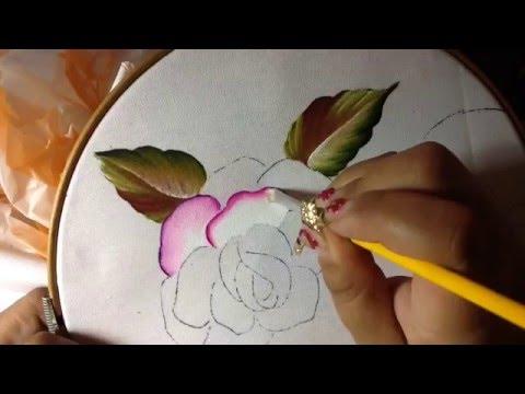 Pintura en tela mama 1 con cony youtube - Pintura en tela dibujos ...