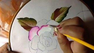 Pintura en tela mama # 1 con cony