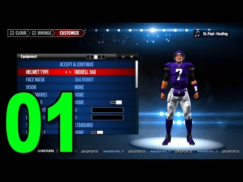 Madden 17 Player Career - Part 1 - Scrambling Quarterback!