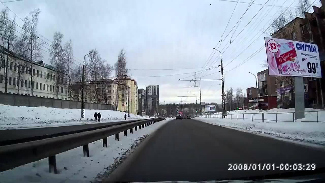 ДТП 27 02 2016 г  Петрозаводск, мост по ул  Краноармейская