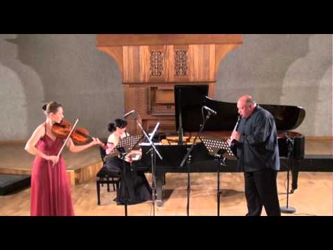 "Wolfgang Amadeus Mozart - Trio for piano, clarinet and viola ""Kegelstatt"", KV 498, Es-Dur"
