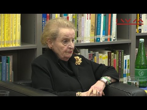 Madeleine Albright: Global Responsibility: Europe, the US and the Refugee Crisis