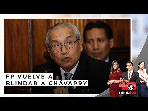 Beteta defiende el archivamiento de denuncias contra Pedro Chávarry - 10 minutos Edición Noche