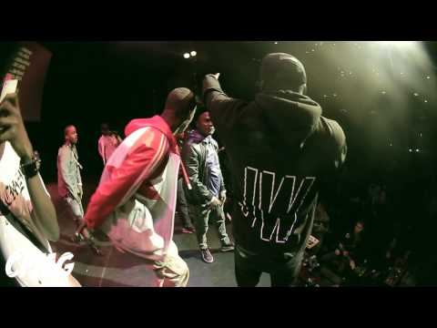 Sneakbo Live at AlterEgo in Hackney Empire feat Timbo Moelogo Filmed by @ColversOfficial