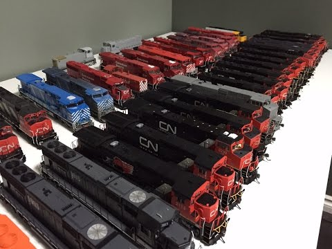 HO Scale Locomotive Roster