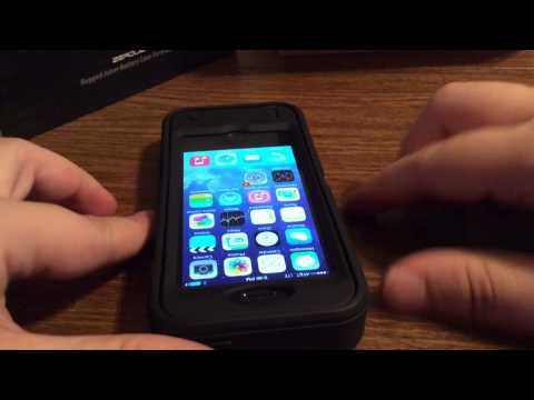 Zerolemon Rugged Juicer 4600mah Battery Case Iphone 5 5s Review