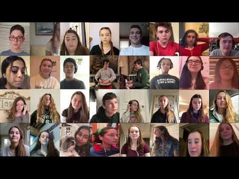 Camden Catholic High School Virtual Choir - I Am With You Always
