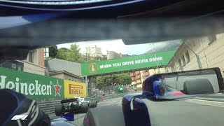 F1 Driver's Eye View with Pierre Gasly | 2018 Monaco Grand Prix