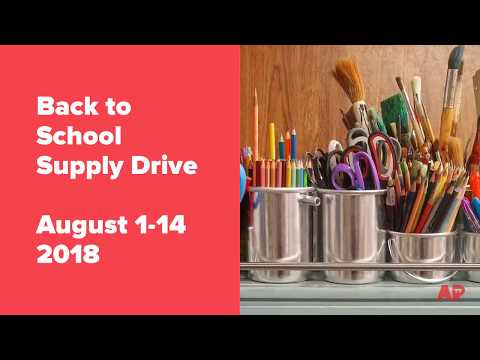 Asbury Park Back to School Supply Drive - August 1-14, 2018
