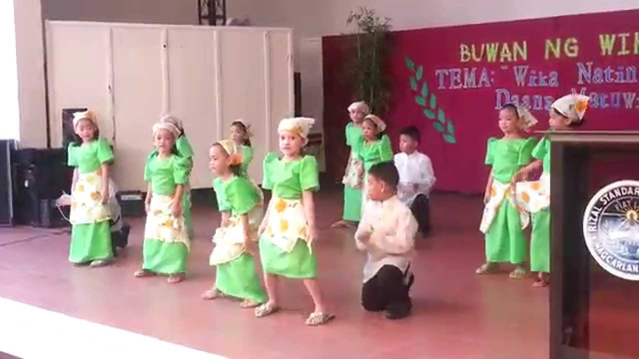 buwan ng wika 2013 grade 1 students rizal standard academy