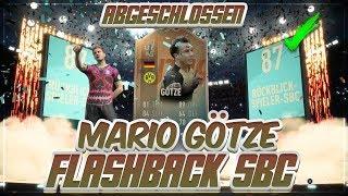 FIFA 19: OMG MARIO GÖTZE (87) FLASHBACK SBC abgeschlossen! 🔥😍 80k im WERT von PACKS!