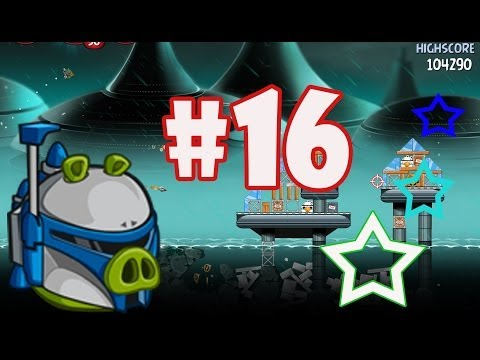 Angry Birds Star Wars 2: Part-16 Gameplay [Rise of The Clones] Jango Fett Level 11-20 + Boss Fight