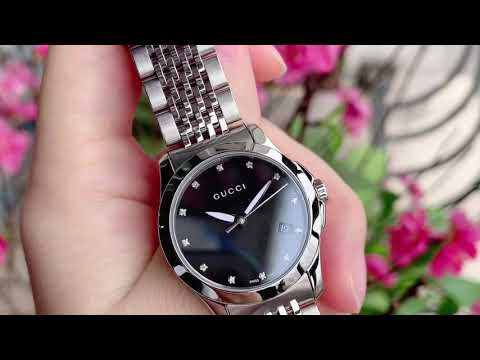 (REVIEW ĐỒNG HỒ) GUCCI G Timeless Ladies Watch YA126505 | TIMEWISE