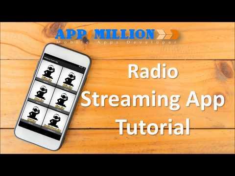Appsmillion Tutorial : Radio Streaming App
