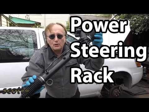 Fixing A Leaking Power Steering Rack