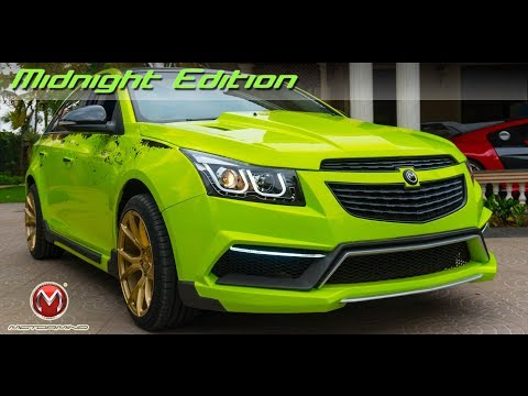 Midnight Edition Cruze ||  Type - 2 Styling Kit || MOTORMIND