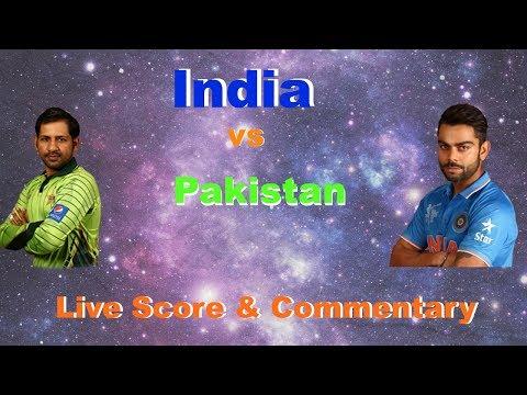 LIVE : India vs Pakistan | Live Score & Commentary | Champions Trophy Final