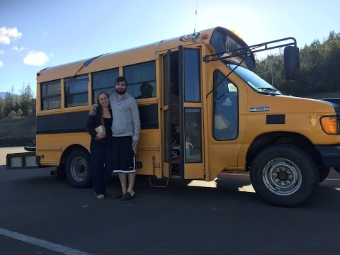 tiny living on the short bus