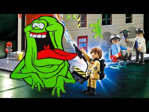 GHOSTBUSTERS VS GHOSTS ✔ CATCH ALL GHOSTS | PLAYMOBIL GHOSTBUSTERS | Cartoon Game for Kids