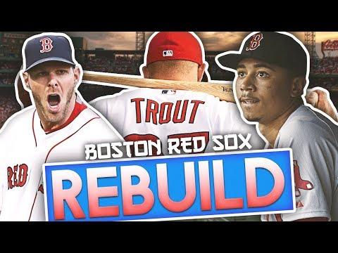 BOSTON RED SOX REBUILD! MLB THE SHOW 18 Franchise World Series Challenge