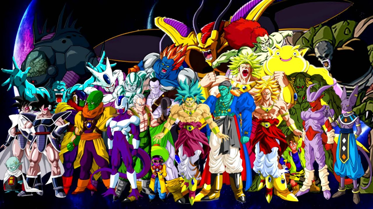 Goku Live Wallpaper Iphone X Dragonball Xenoverse Z Movie Villians Z Who Will All Be In