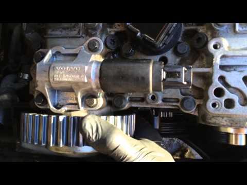2001 Volvo v70; exhaust VVT cam gear slop
