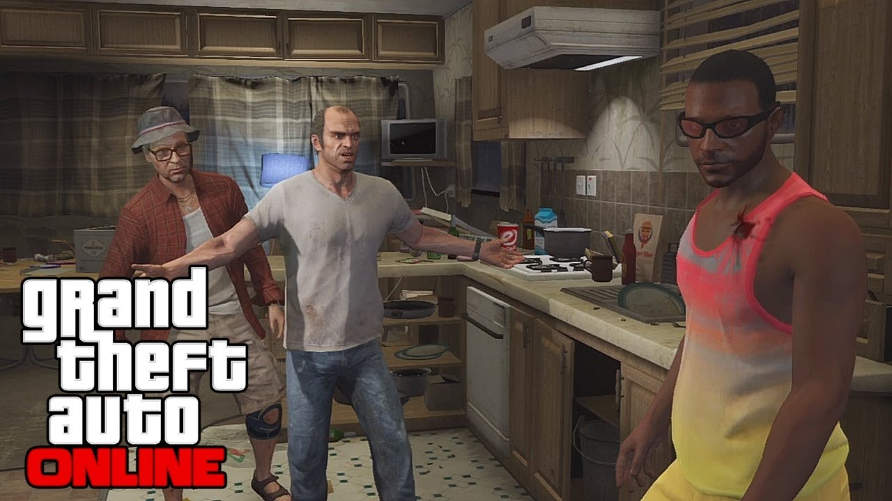 GTA 5 Online Multiplayer Gameplay - Meeting Trevor, Free Roam Bounty  Hunting, and Missions