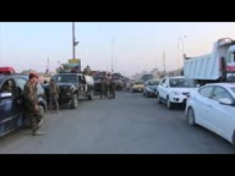 Iraq Security Forces Deployed On Streets Of Basra