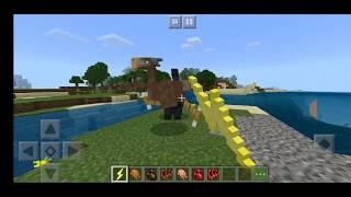 Обзор мода на новых монстров в Майнкрафт пе Как приручить дракона в майнкрафт обзор аддона на майнкр