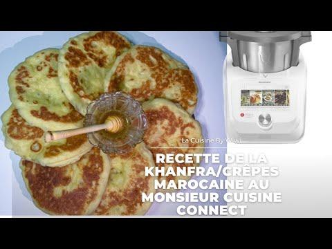 bouchiyar-(khanfra)-facile-et-inratable-au-monsieur-cuisine-connect-mcc-de-lidl-(crêpe-marocaine)