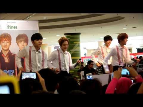 Mambo - A-PRINCE Promo Tour In Malaysia 2013 @ The Mines Shopping Mall