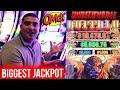 BIGGEST JACKPOT Ever On New BUFFALO LINK Slot | Winning Mega Bucks At Casino On Slot