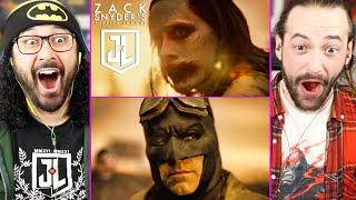 Snyder Cut | ZACK SNYDER'S JUSTICE LEAGUE - TRAILER REACTION! (Joker | Batman | Breakdown | HBO Max)