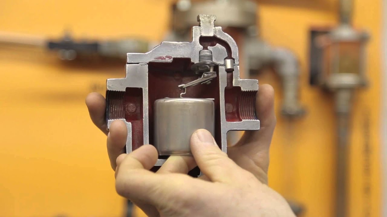 Campbell Sevey Inverted Bucket Steam Trap Youtube
