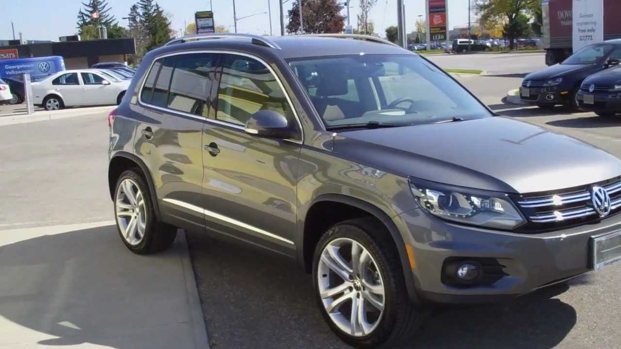 vehicle walk around 2012 tiguan highline roman youtube. Black Bedroom Furniture Sets. Home Design Ideas