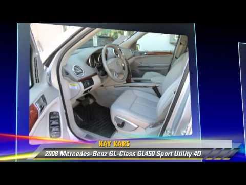 2008 Mercedes-Benz GL-Class GL450 - Kay Kars, Los Angeles ...