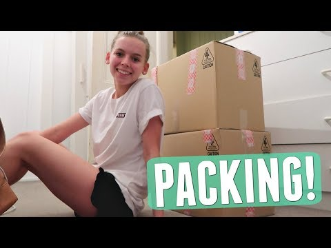 PACKING UP MY ROOM & UNPACKING THE NEW HOUSE! | Moving Vlog #3