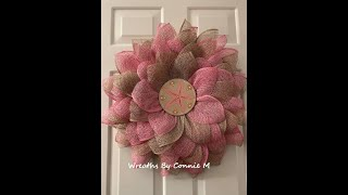 flower with ranch house center| Easy DIY Wreath