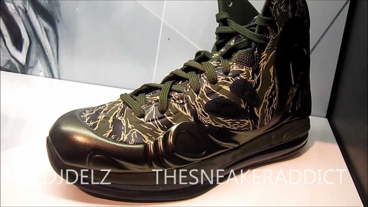 new product 8b016 8bd12 Nike Air Max Hyperposite Tiger Camo Sneaker Review With  DjDelz  HotOrNot    - YouTube