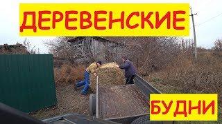 Деревенские будни / Скоро морозы / Отвёз тюк / Переставили тёлку / Семья в деревне